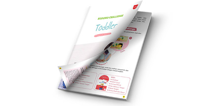 Toddler Free Trial Kit Buku Aktivitas Bergambar